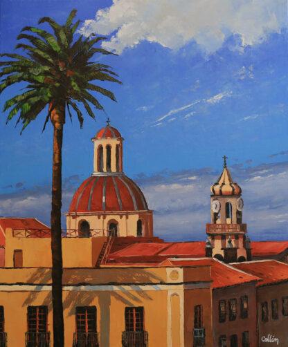 Ville de La Orotava à Tenerife