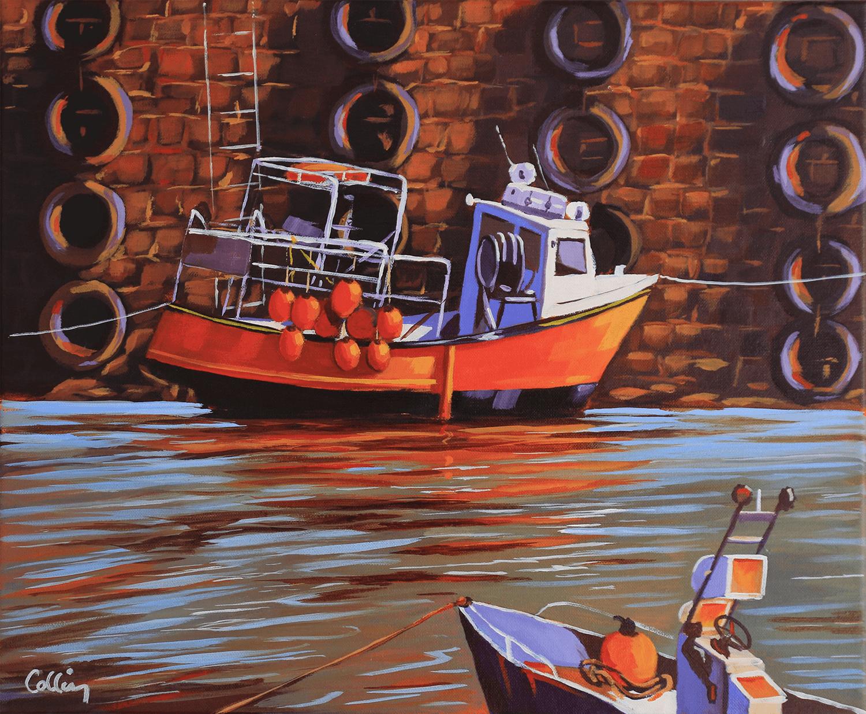 Bateau de pèche au port de Roscoff