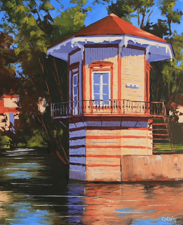 Le kiosque de la petite Venise à Chartres